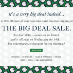 The Big Deal Sale