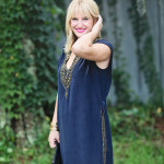 What I'm Wearing: Silk & Embellishments
