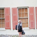 What I'm Wearing: Leather & Brass