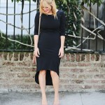 What I'm Wearing: LBD + Crystal Cuff