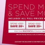 Shopbop's Spend More Save More Sale Event + A Furbish Pop Up Shop