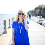 What I'm Wearing: Cobalt Shift