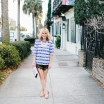 What I'm Wearing: Plaid + Lace
