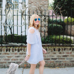 What I'm Wearing: Cut Out Flutter Sleeves
